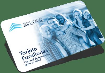 Tarjeta Especialistas Farallones